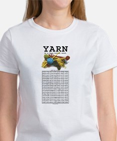 Yarn is a 4 Letter Word Tee