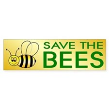 BEES Bumper Car Sticker