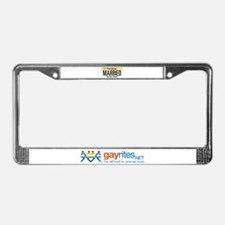 New Jersey Marriage Equality License Plate Frame