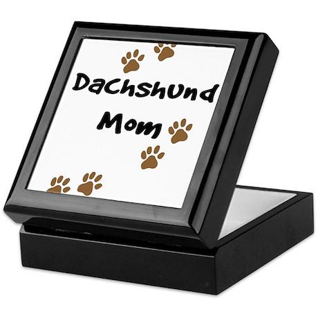 Dachshund Mom Keepsake Box