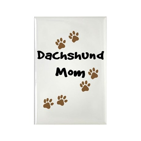 Dachshund Mom Rectangle Magnet (10 pack)