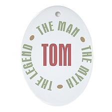 Tom Man Myth Legend Oval Ornament