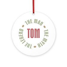 Tom Man Myth Legend Ornament (Round)