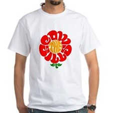 Cowsill Flower Logo Shirt