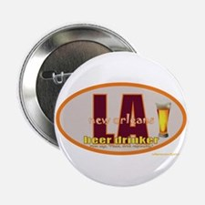 """Cute New orleans beer 2.25"""" Button"""