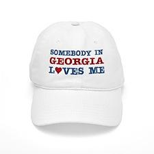 Somebody in Georgia Loves Me Baseball Cap