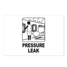 Pressure Leak Postcards (Package of 8)