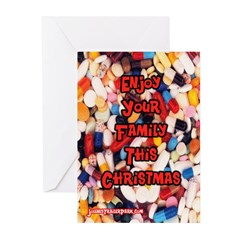 Enjoy Family Greeting Cards (Pk of 10)