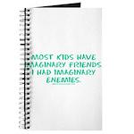I Had Imaginary Enemies Journal