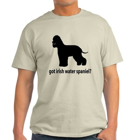 Got Irish Water Spaniel? Light T-Shirt