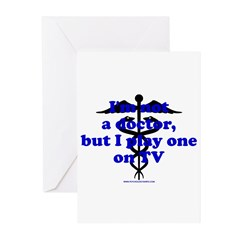 I'm Not A Dr Greeting Cards (Pk of 20)