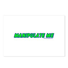 Manipulate Me Postcards (Package of 8)