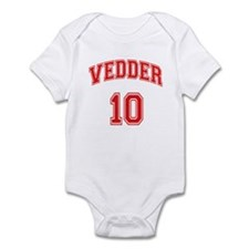 vedder 10 Infant Bodysuit