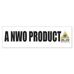 A NWO Product Bumper Bumper Sticker