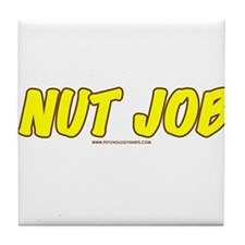 Nut Job Tile Coaster