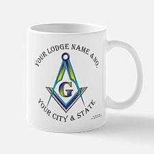 Custom Masonic Mug