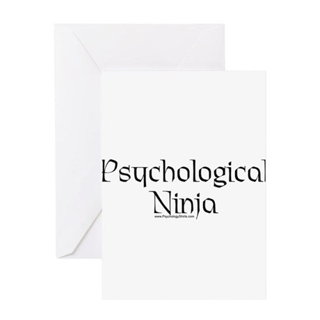 Psychological Ninja Greeting Card