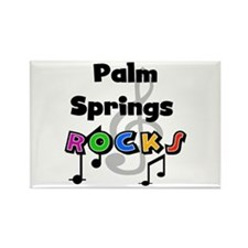 Palm Springs Rocks Rectangle Magnet