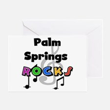 Palm Springs Rocks Greeting Card