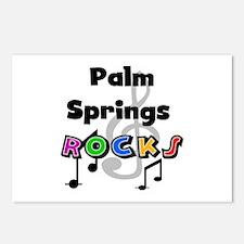 Palm Springs Rocks Postcards (Package of 8)