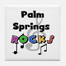 Palm Springs Rocks Tile Coaster