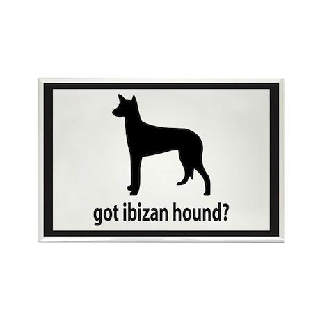 Got Ibizan Hound? Rectangle Magnet