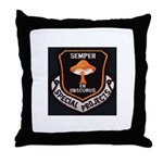 Semper En Obscuris Throw Pillow