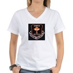 Semper En Obscuris Women's V-Neck T-Shirt