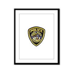 Santa Maria Police Framed Panel Print