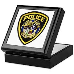 Santa Maria Police Keepsake Box