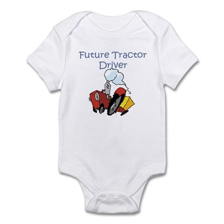 Cute Future Tractor Driver Infant Bodysuit