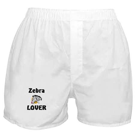 Zebra Lover Boxer Shorts
