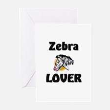 Zebra Lover Greeting Cards (Pk of 10)