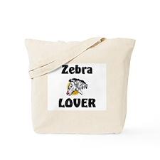 Zebra Lover Tote Bag