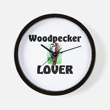 Woodpecker Lover Wall Clock