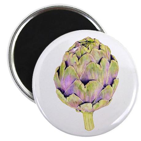 """Purple Artichoke 2.25"""" Magnet (100 pack)"""