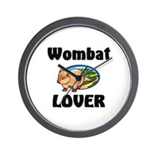 Wombat Lover Wall Clock