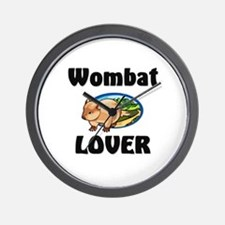 Wombat Lover Wall Clock