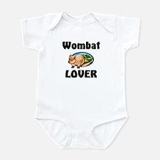 Wombat Lover Infant Bodysuit