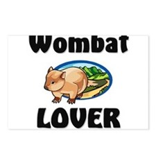 Wombat Lover Postcards (Package of 8)
