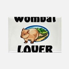 Wombat Lover Rectangle Magnet