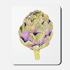 Purple Artichoke Mousepad