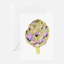Purple Artichoke Greeting Cards (Pk of 10)