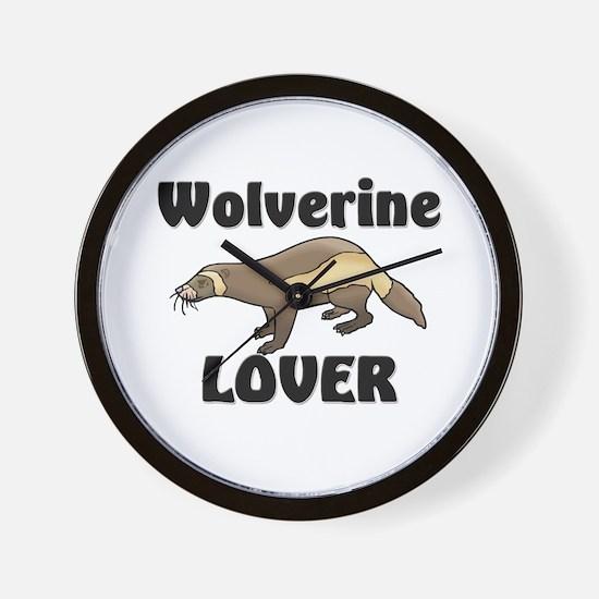 Wolverine Lover Wall Clock