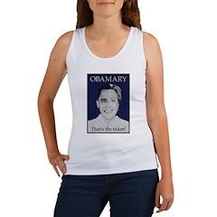 Obama Clinton Ticket Women's Tank Top