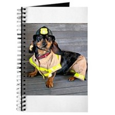 Fireman Doxie Journal