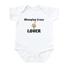 Whooping Crane Lover Infant Bodysuit