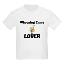Whooping Crane Lover T-Shirt