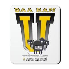 Baa Ram U yellow Mousepad
