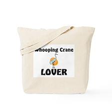 Whooping Crane Lover Tote Bag